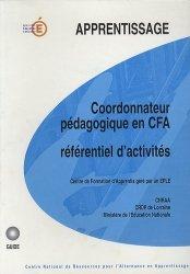 Coordonateur pédagogique en CFA