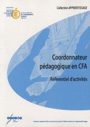 Coordonnateur pédagogique en CFA