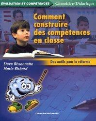 Comment construire des compétences en classe