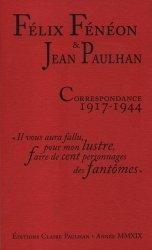 Correspondance 1917-1944