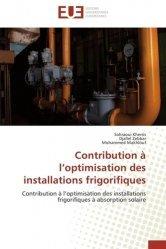 Contribution à l'optimisation des installations frigorifiques