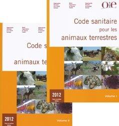 Code sanitaire pour les animaux terrestres 2012