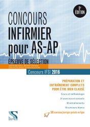 Concours d'entrée IFSI - Épreuve de sélection AS/AP  2016