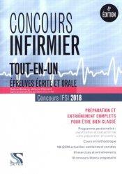 La couverture et les autres extraits de Concours infirmier 2019