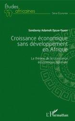 Croissance économique sans développement en Afrique