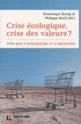 Crise écologique, crise des valeurs