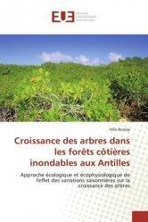 Croissance des arbres dans les forêts côtiEres inondables aux Antilles