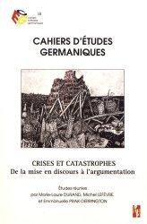 Crises et catastrophes
