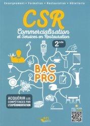 CSR Bac pro - Seconde élève