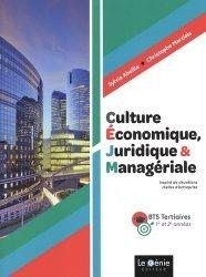 Culture économique, juridique et managériale BTS tertiaires 1re et 2e années