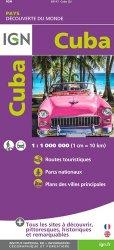 La couverture et les autres extraits de Cuba. 1/775 000