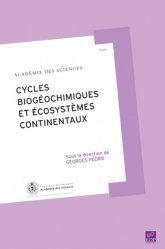 Cycles biogéochimiques et écosystèmes continentaux