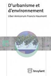 D'urbanisme et d'environnement