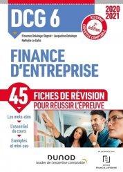 DCG 6 Finance d'entreprise