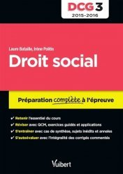 DCG 3, droit social