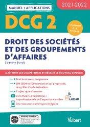 DCG 2 - Droit des sociétés et des groupements d'affaires : Manuel et Applications 2021-2022