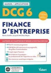 DCG 6 - Finance d'entreprise : Manuel et Applications
