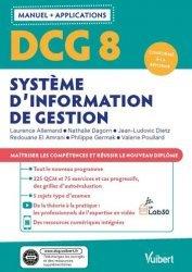 DCG 8 - Systèmes d'information de gestion : Manuel et Applications