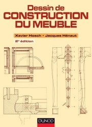 Dessin de construction du meuble