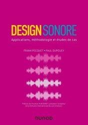 Design sonore - Applications, méthodologie et études de cas