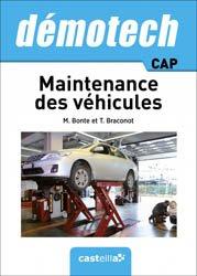 La couverture et les autres extraits de Technologie de l'automobile 2de Bac Pro Maintenance des véhicules
