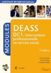 DEASS DC 1. Intervention professionnelle en service social