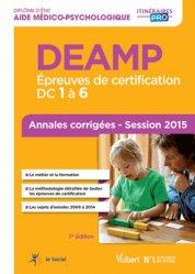 La couverture et les autres extraits de DEES - Épreuves de certification DC 1 à 4 - Annales corrigées
