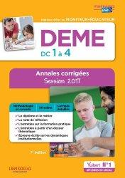 La couverture et les autres extraits de DEES DC3 - Communication professionnelle en travail social