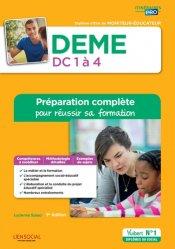 La couverture et les autres extraits de DEME - Épreuves de certification DC 1 à 4 - Annales corrigées 2019