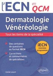 La couverture et les autres extraits de UE ECN+ Dermatologie Vénérologie