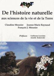 De l'histoire naturelle aux sciences de la vie et de la Terre