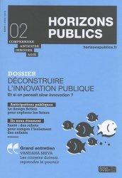 Déconstruire l'innovation publique