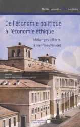 De l'économie politique à l'économie éthique