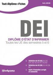 La couverture et les autres extraits de DEI, Diplôme d'Etat Infirmier