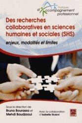 Des recherches collaboratives en sciences humaines et sociales (SHS)