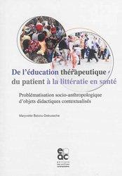 De l'éducation thérapeutique du patient à la littératie en santé