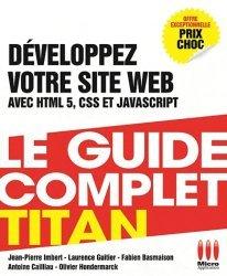 Développez votre site web HTML 5, CSS 3, JavaScript