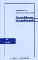 Des sociologues et la philosophie
