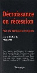 Décroissance ou récession