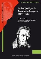 De la République de Constantin Pecqueur (1801-1887)