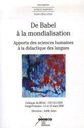 De Babel à la mondialisation