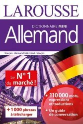 La couverture et les autres extraits de Dictionnaire mini plus allemand