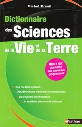 Dictionnaire des Sciences de la Vie et de la Terre