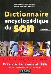 Dictionnaire encyclopédique du son