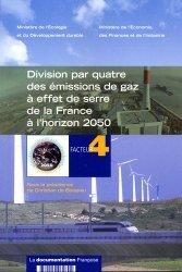 Division par quatre des émissions de gaz à effet de serre de la France à l'horizon 2050