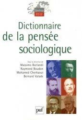 Dictionnaire de la pensée sociologique