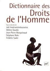 La couverture et les autres extraits de Droit européen et international des droits de l'homme. 12e édition