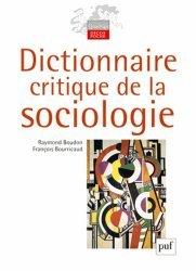 Dictionnaire critique de la sociologie