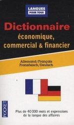 Dictionnaire économique, commercial & financier
