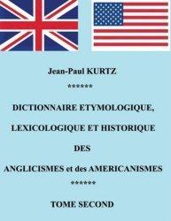 Dictionnaire étymologique des anglicismes et des américanismes
